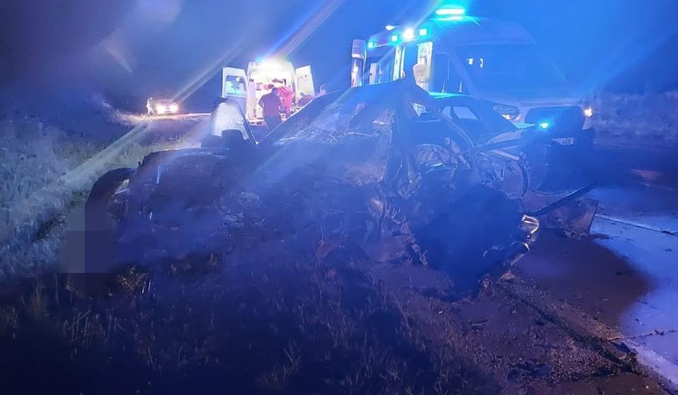Foto /FOTO/ Grav accident în raionul Sângerei. Două persoane au murit, iar altele trei, printre care și un copil au ajuns la spital 1 17.10.2021
