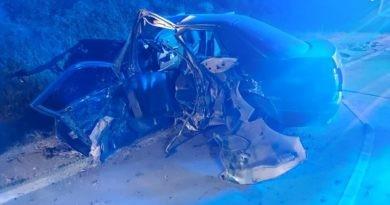 /FOTO/ Grav accident în raionul Sângerei. Două persoane au murit, iar altele trei, printre care și un copil au ajuns la spital