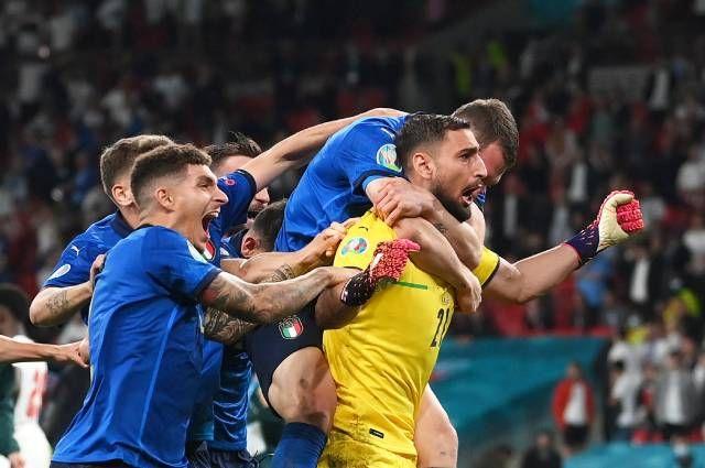 Foto Сборная Италия стала победителем Евро-2020 1 28.07.2021