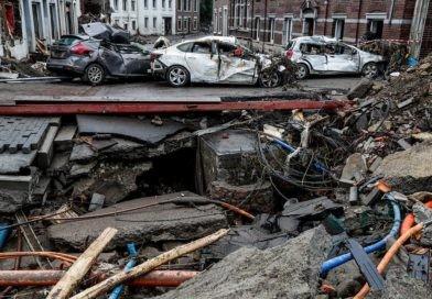 Foto Новое наводнение из-за ливней началось на юге Бельгии, подтоплены несколько населенных пунктов 21 21.09.2021