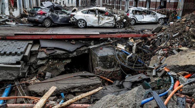 Foto Новое наводнение из-за ливней началось на юге Бельгии, подтоплены несколько населенных пунктов 1 28.07.2021