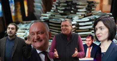 Foto Блок «Ренато Усатый», партия «Действие и солидарность» (PAS) и блок ПКРМ-ПСРМ - лидеры по сбору денег на избирательных счетах 3 24.07.2021