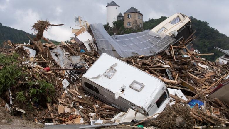 Foto Румыны были пойманы на кражах в районах, пострадавших от наводнений в Германии 2 28.07.2021