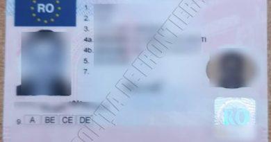 Timp de cinci ani, un bărbat din raionul Fălești s-a legitimat peste hotare cu un permis falsificat