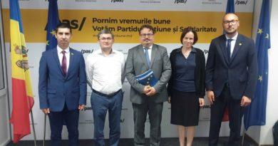 Foto Посол Европейского союза Петер Михалко пообещал руководству PAS доступ к 600 млн евро 2 05.08.2021