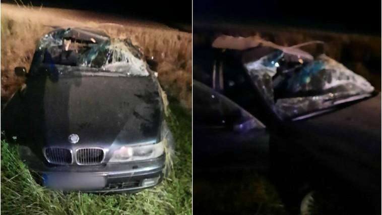 /FOTO/ Grav accident în raionul Drochia. Un tânăr a murit, iar alții doi sunt internați la spital