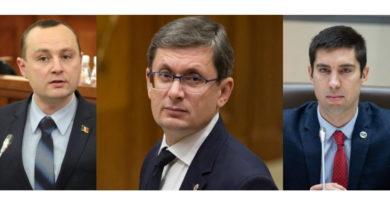 Foto Игорь Гросу стал спикером парламента Молдовы, Попшой и Батрынча избраны вице-спикерами 4 05.08.2021