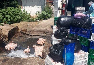 Aproximativ 1.600 kilograme de carcase de pui infestate cu salmonela au fost depistate la un agent economic din Bălți