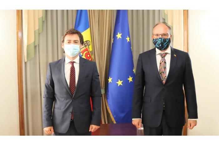 Foto Министр иностранных дел Нику Попеску в ближайшее время посетит Бухарест 2 21.09.2021