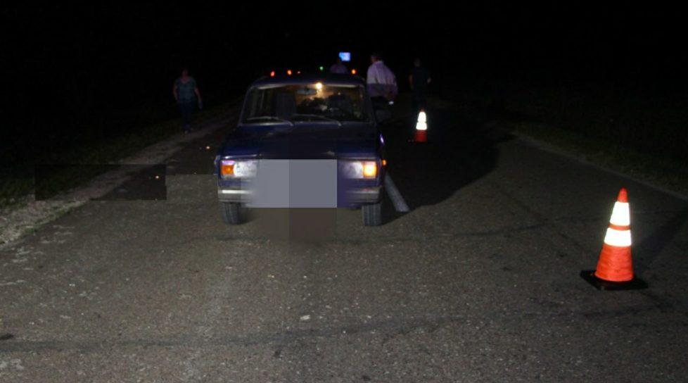 Un șofer a lovit mortal o femeie care se deplasa pe marginea drumului în raionul Ocnița