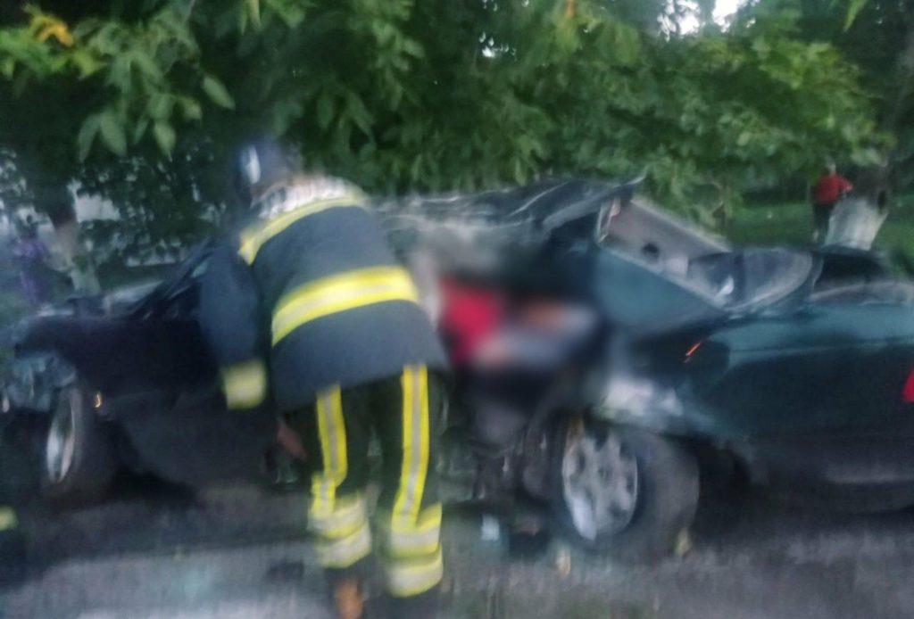 Foto /FOTO/ Grav accident în raionul Briceni. Un tânăr a murit, iar alții doi au ajuns la spital 1 21.09.2021