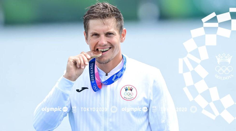 Prima medalie pentru Republica Moldova la Jocurile Olimpice din Tokyo. Canotorul Serghei Tarnovschi a câștigat bronzul