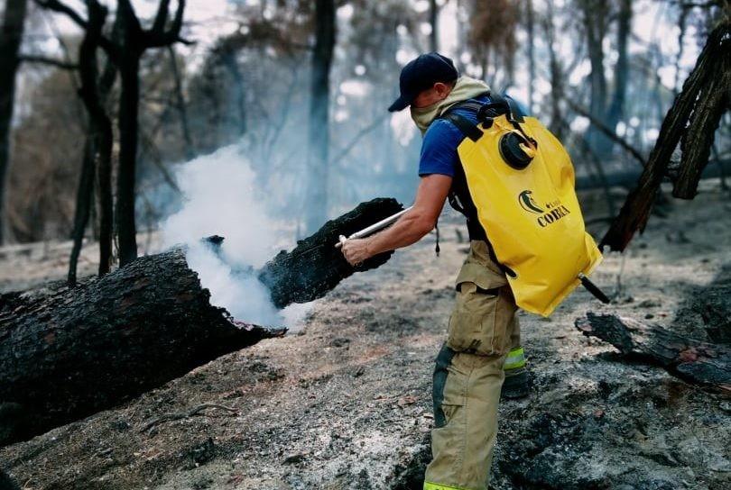 /VIDEO/ Peste 260 de focare au fost stinse de pompierii moldoveni în Grecia