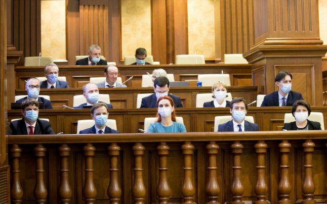 Parlamentul Republicii Moldova a votat învestirea Guvernului Gavrilița