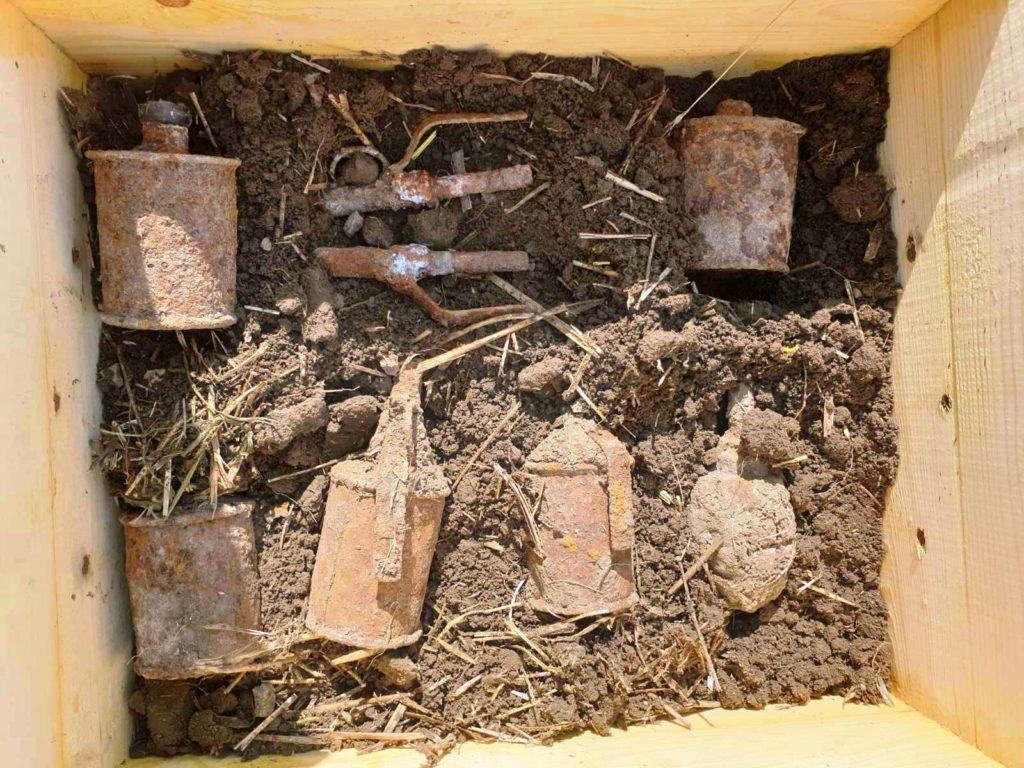 Foto /FOTO/ Peste 70 de muniții au fost lichidate în luna iulie de către geniștii Armatei Naționale 3 21.09.2021