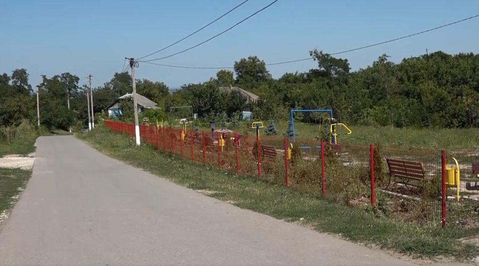 /VIDEO/ Râpa din satul Băxani, raionul Soroca, s-a transformat într-un parc