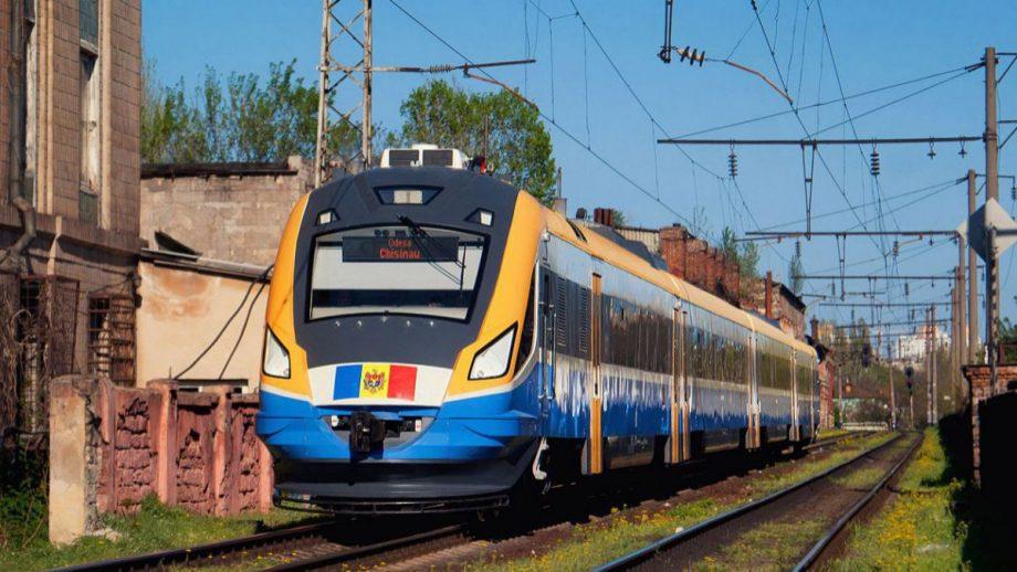 Trenul de pe ruta Odesa-Chișinău-Odesa își reia activitatea din 28 august