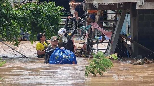 Foto /FOTO/Thailanda a intrat în alertă. O furtună tropicală a scufundat 70.000 de locuințe, a ucis șase oameni și amenință capitala Bangkok 1 27.10.2021