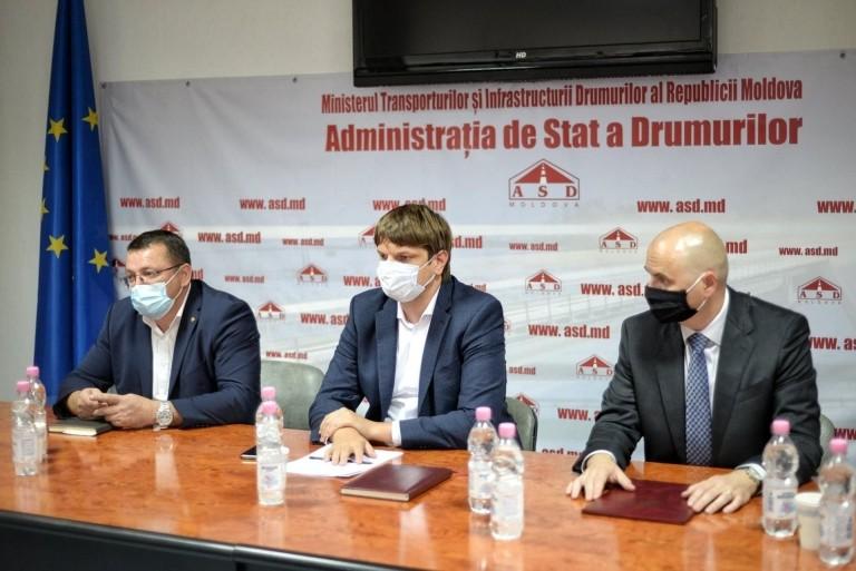 """Foto Î.S.""""Administrația de Stat a Drumurilor"""" are un nou director 1 21.09.2021"""