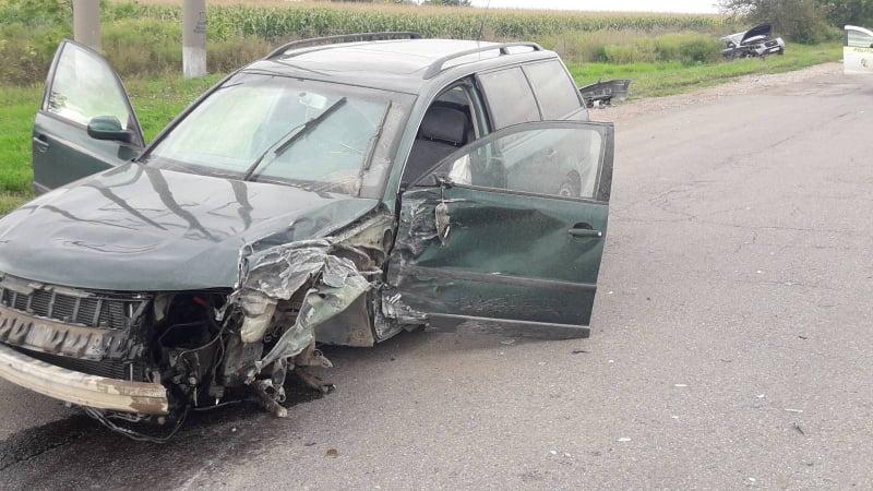 Foto Accident în raionul Florești. O femeie de 36 de ani a fost transportată la spital 1 20.09.2021