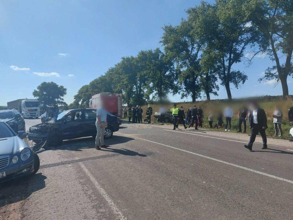 Foto /FOTO/ Accident violent în raionul Edineț. O persoană a murit, iar alte trei au fost internate la spital 2 21.09.2021