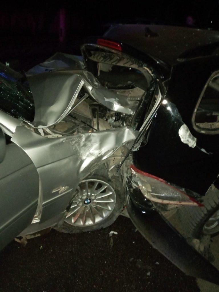 Foto /FOTO/ Carambol pe o stradă din Bălți. Un șofer a accidentat patru automobile și a fugit de la locul faptei 4 27.10.2021