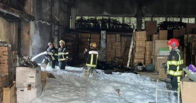 Foto Un depozit de jucării din capitală a luat foc. Pentru lichidarea incendiului, 40 de salvatori au intervenit 2 21.09.2021