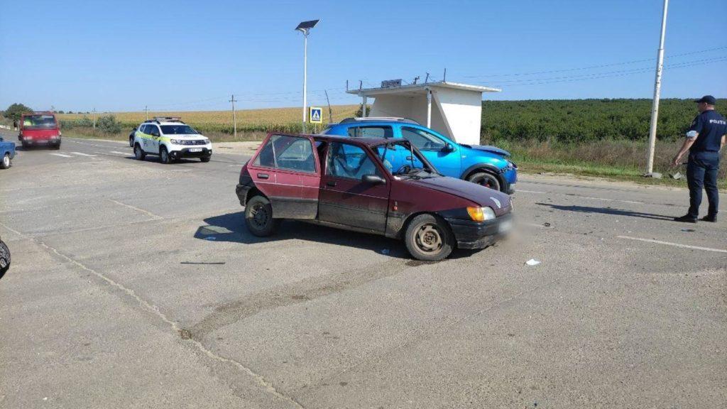 Foto /FOTO/ Accident în raionul Sîngerei. Mai multe persoane au avut nevoie de îngrijiri medicale 4 27.10.2021
