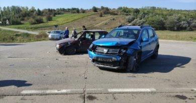 /FOTO/ Accident în raionul Sîngerei. Mai multe persoane au avut nevoie de îngrijiri medicale