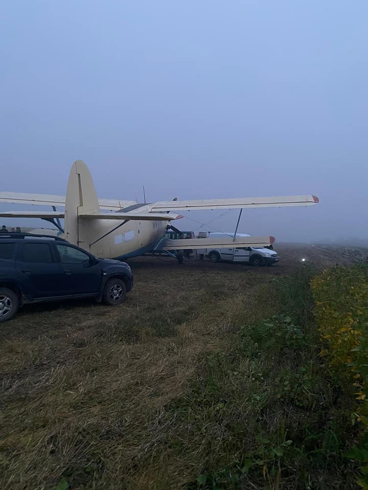 Foto /FOTO/ Un avion plin cu țigări de contrabandă, depistat în raionul Edineț 5 21.09.2021