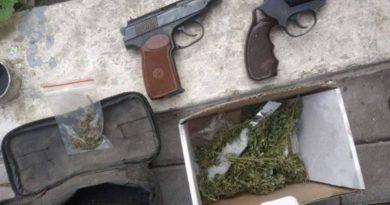 Foto Două pistoale și circa 250 de plante de cânepă, depistate de polițiștii din Glodeni 1 22.09.2021