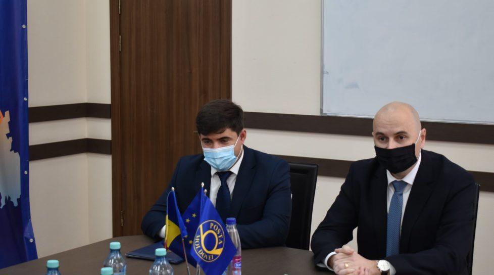 """Foto Roman Cojuhari este noul director interimar al ÎS """"Poșta Moldovei"""" 1 27.10.2021"""