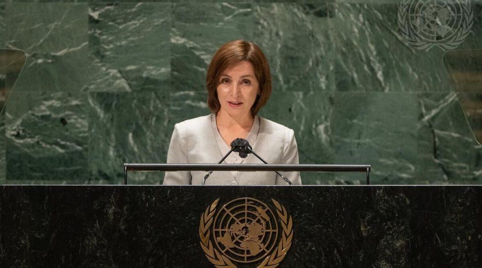 Foto Discursul președintelui RM Maia Sandu la ONU: Ne confruntăm cu 4 provocări 1 27.10.2021