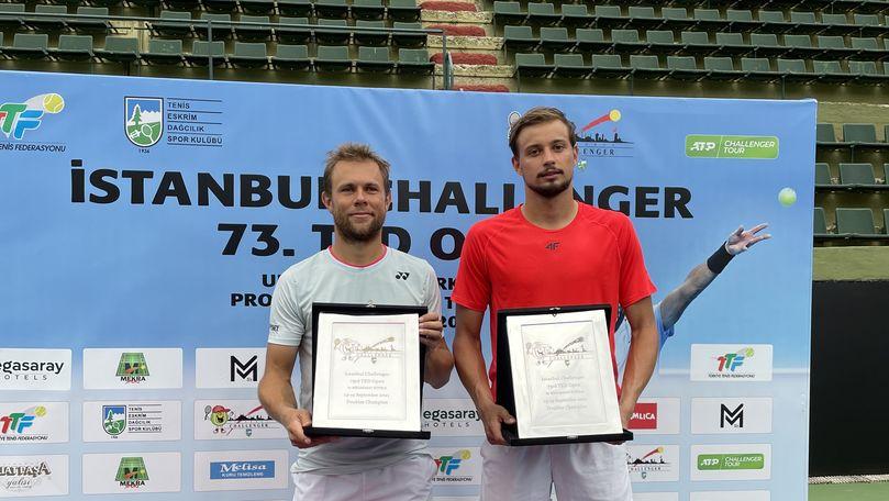 Radu Albot și Alexandr Cozbinov au câștigat turneul de tenis Istanbul Challenger