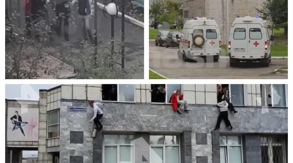 Foto /VIDEO/ Atac armat la o universitate din Rusia. Cel puțin trei mii de studenți se aflau în instituție 1 17.10.2021