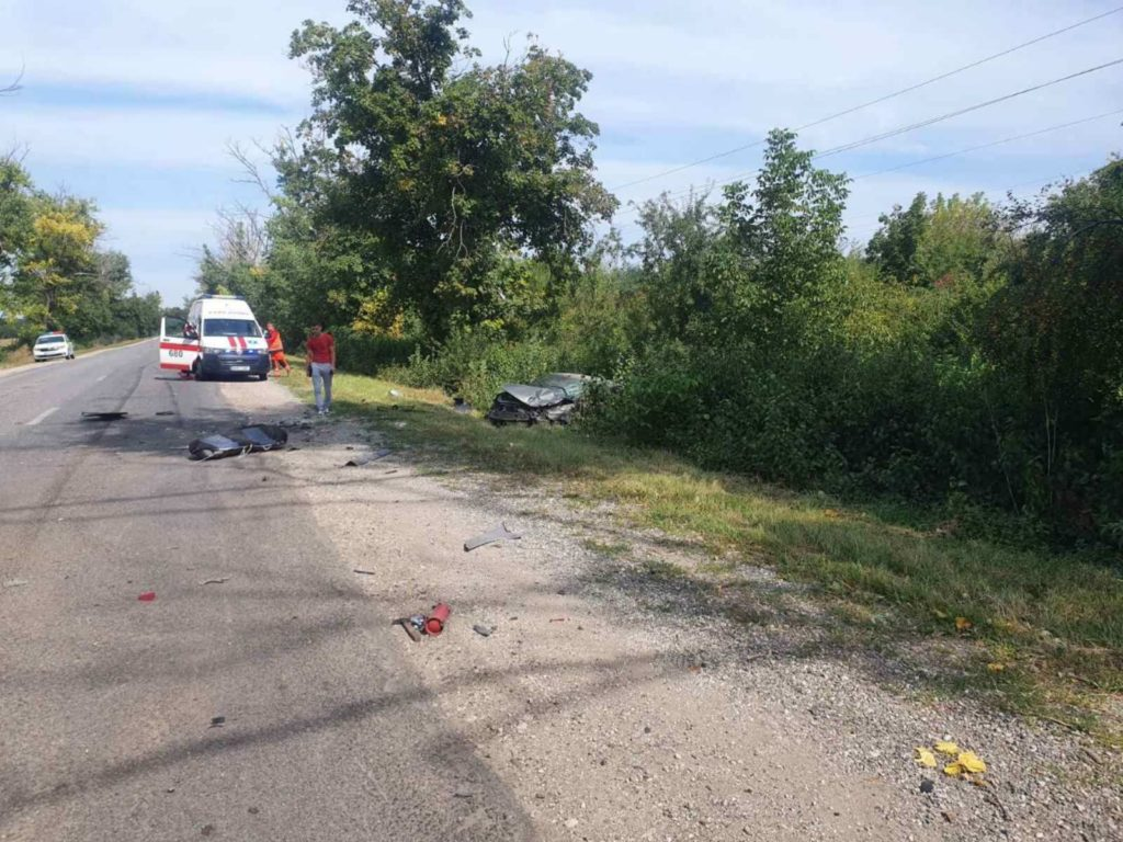 Foto /VIDEO/ Accident cu implicare a patru unități de transport în raionul Drochia 2 27.10.2021