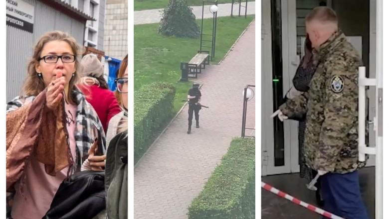 """Foto Mesajul înfiorător al atacatorului de la universitatea din Rusia: """"Voi face totul pentru a ucide cât mai mulți"""" 1 27.10.2021"""