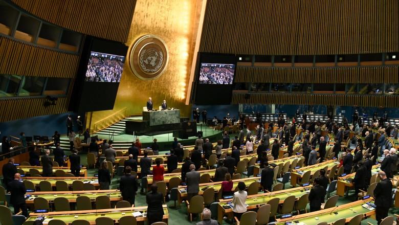 Foto Participanții la Adunarea Generală a ONU trebuie să arate că sunt vaccinați anti-COVID. Reacția Moscovei 1 27.10.2021