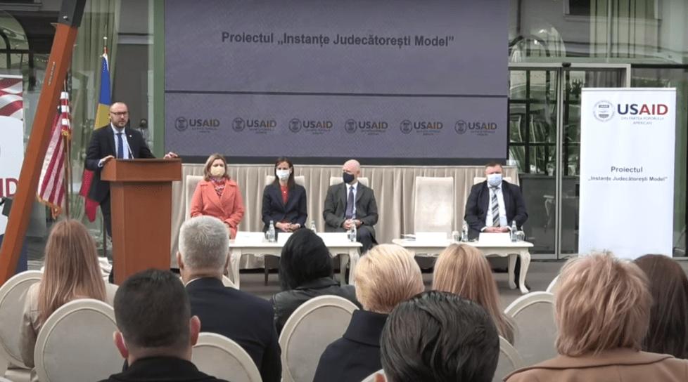 Foto /VIDEO/ Judecătoriile Bălți și Ungheni vor beneficia de un proiect în valoare de 5,6 milioane de dolari 1 17.10.2021