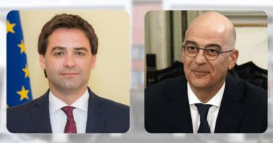 Foto Ministrul Afacerilor Externe al Greciei vine la Chișinău 2 18.09.2021
