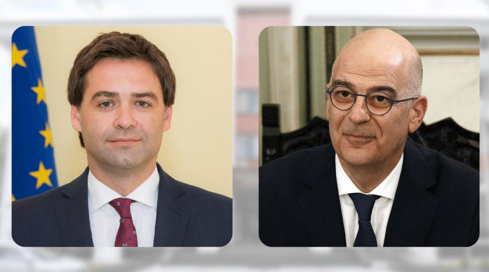 Foto Ministrul Afacerilor Externe al Greciei vine la Chișinău 1 27.10.2021