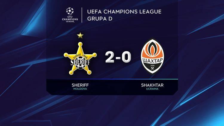 Sheriff Tiraspol a debutat cu victorie în grupele Champions League
