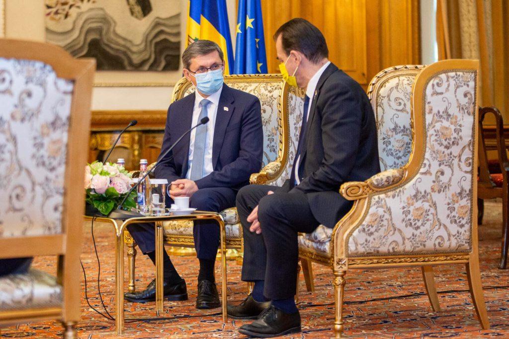 """Foto Igor Grosu întreprinde o vizită în România: """"Am convenit să reanimăm relațiile la nivel interparlamentar pe mai multe domenii"""" 3 21.09.2021"""