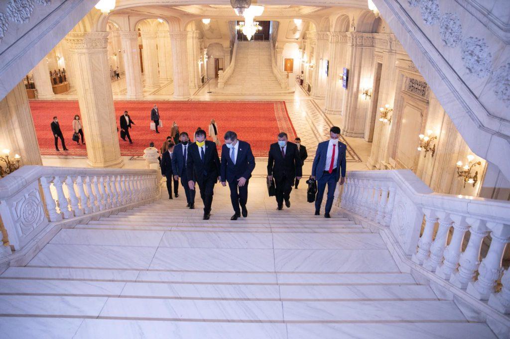 """Foto Igor Grosu întreprinde o vizită în România: """"Am convenit să reanimăm relațiile la nivel interparlamentar pe mai multe domenii"""" 2 21.09.2021"""