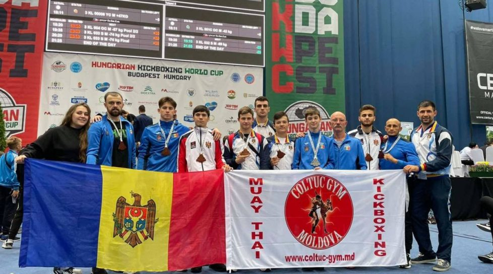 Sportivii moldoveni au cucerit 39 de medalii la Cupa Mondială de Kickboxing