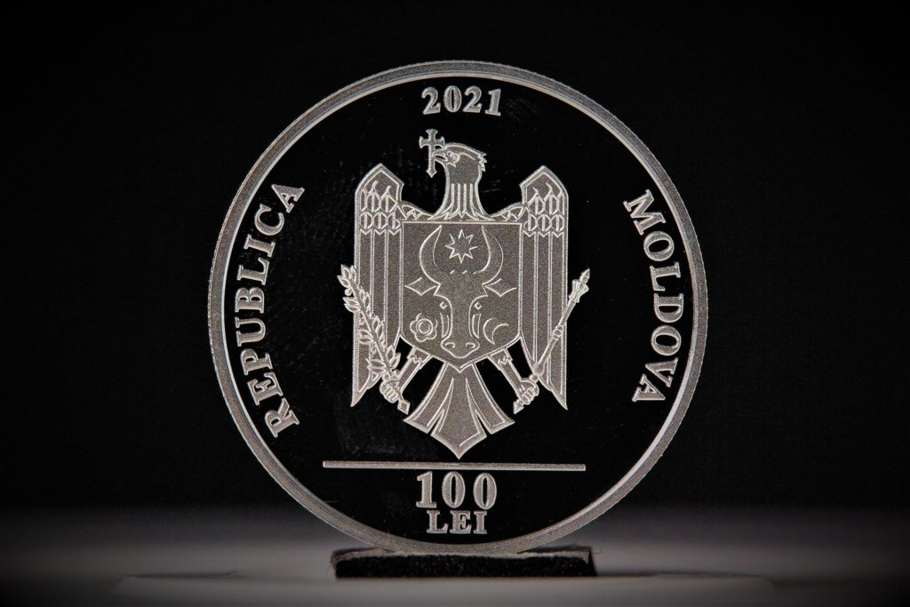 Foto Banca Națională a Moldovei pune în circulație o monedă comemorativă în valoare de 100 de lei 2 27.10.2021