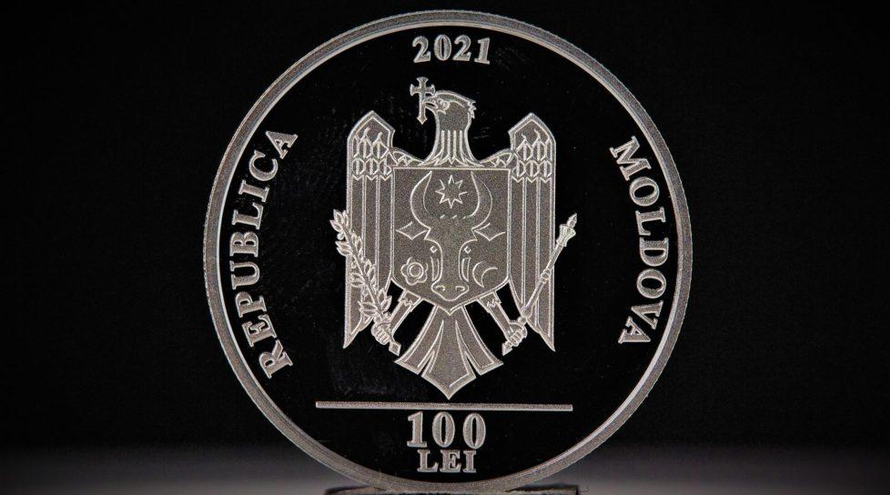 Banca Națională a Moldovei pune în circulație o monedă comemorativă în valoare de 100 de lei
