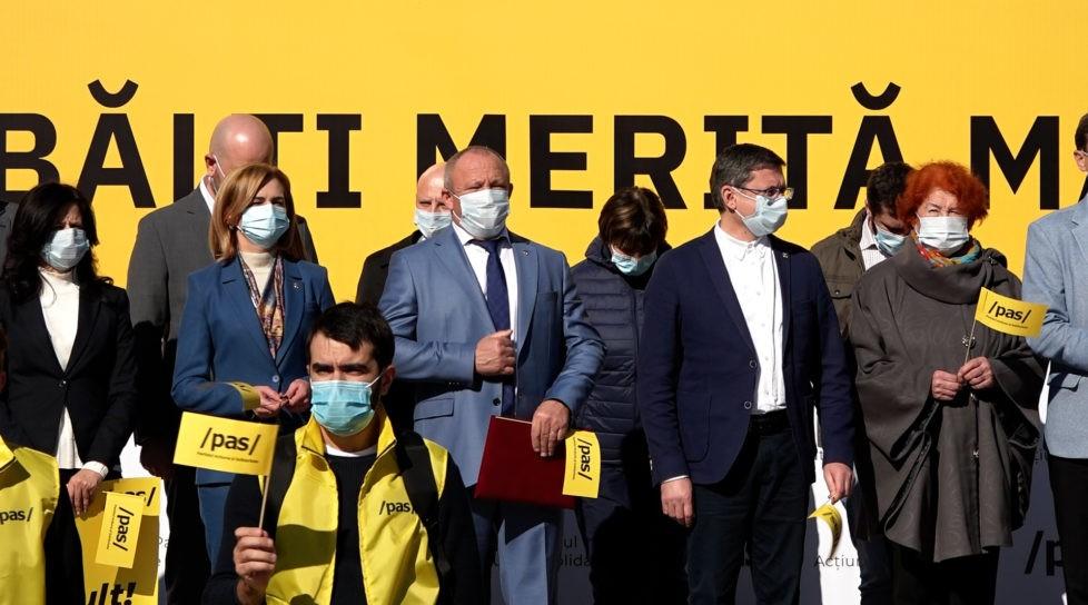 Foto /VIDEO/ Alături de mai mulți deputați din actualul Parlament, Boris Marcoci se lansează în cursa pentru Primăria Bălți 1 17.10.2021