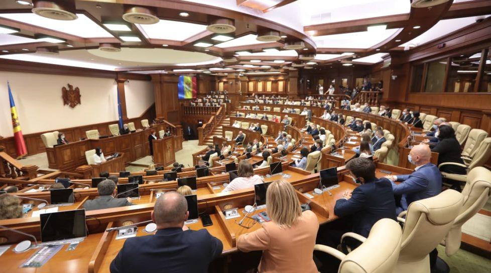 """Foto /VOTAT/ Parlamentul a aprobat instituirea stării de urgență. Gavrilița: """"Nu negociem interesul țării pe ascuns"""" 4 26.10.2021"""