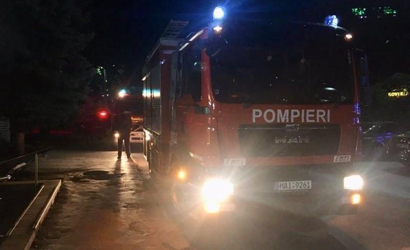 Incendiu la un hotel din Bălți. Cinci persoane au fost evacuate